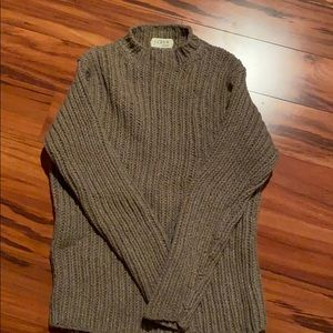 J Crew Unisex  lambs wool sweater.